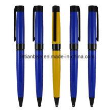 Elegante bolígrafo de Metal impreso Logo (LT-C774)