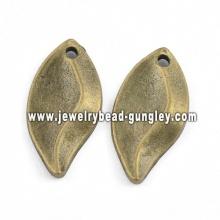 Лист формы ювелирные изделия сплава ожерелье кулон