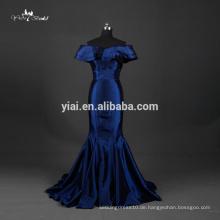 TE002 Abschlussball-Kleid-Taft-Gewebe-königliches blaues Meerjungfrau Bodycon Kleid-Muster