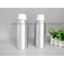 Aluminium-Duftöl-Flasche mit weißer Plastik-Tamper-Proof-Cap (PPC-AEOB-032)