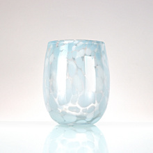 Solid Colorful Glass Tumbler