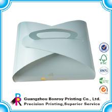 Cajas de pastelería de papel de cartón personalizado que empaquetan con el logotipo