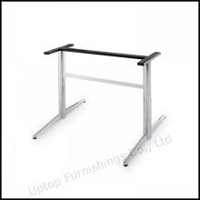 Прочный из нержавеющей стали прямоугольник стол офисный базы (СП-STL035)