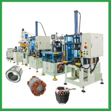 Auto stator production manufacturing machine assembly line