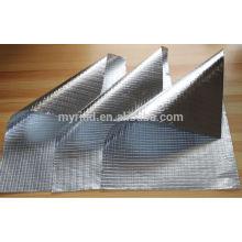 Isolation réfléchissante en aluminium