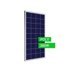 Дешевая цена поли солнечной фотоэлектрической панели 260 Вт