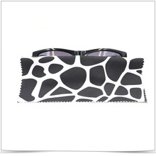 Promotional OPP Packed Microfiber Sunglasses Cleaning Cloth