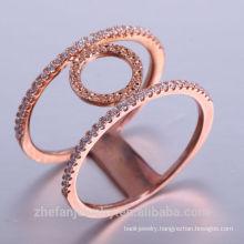 fashion gold plated jewelry 14k new models AAA zircon copper dubai gold jewelry for women