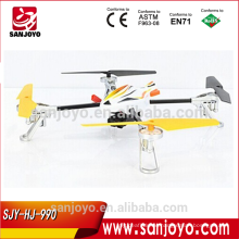 China Newest Flying Rc Quadcopter Drone Quad Copter with HD Camera SJY-HJ-990