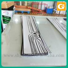 Removable decoration vinyl floor sticker