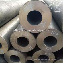 sch 40/80 construction sans soudure en acier au carbone tuyau tube