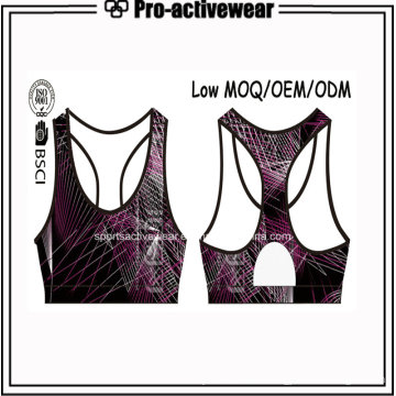 New Fashion Low MOQ Ladies Gym Bodybuilding Activewear (Sublimation)