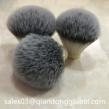 Bulb Shape Silvertip Synthetic Shaving Brush Knot