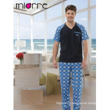 Miorre Мужской пижамы 100% хлопок пижамы набор