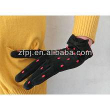 2013 spots palm winter verwenden suede handschuhe