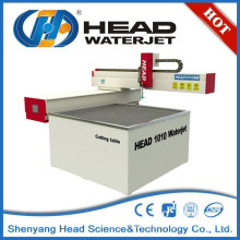 China HEAD 1000mm*1000mm Mini waterjet cutting machine for glass