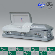 LUXES American Style Metal Caskets With 18ga