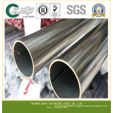 ASTM 304 316 Embossing Machine Stainless Steel Pipe