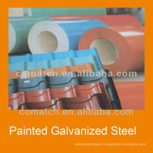 Galvalume coils, Pre-painted galvalume steel