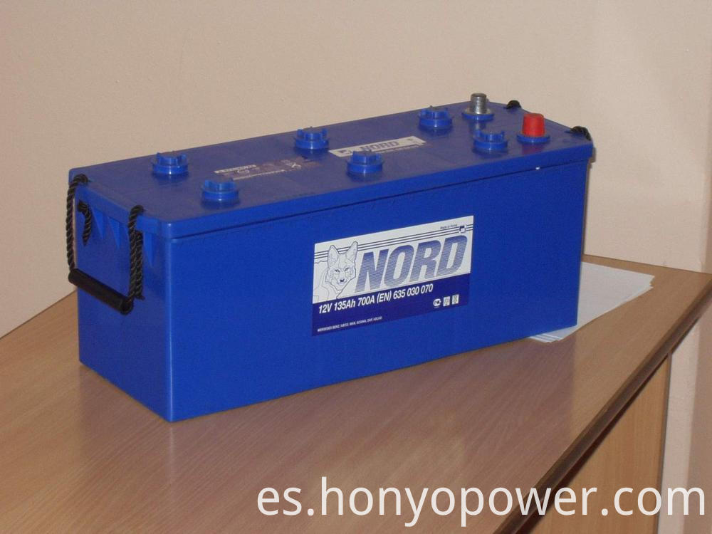 DIN 12V 135Ah Lead-acid Car Batteries