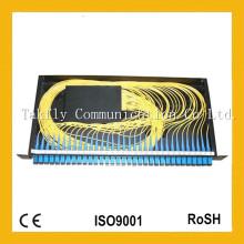 Vente en gros 1X32 19 pouces 1u Rack-Mount Sc Adapter Fibre Optique PLC Splitter