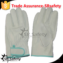 SRSAFETY корова водитель кожа перчатка безопасные рабочие перчатки / безопасности вождения теплые перчатки, волшебная пряжка / кожаные перчатки, Китай поставщик