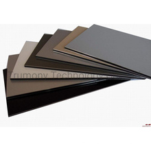 4mm Unbreakable PVDF Aluminum Composite Panel Double Coated Bending Panel Sliver Brushed Metal Finish Wall Cladding Panel
