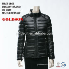 New arrival light weight down jacket ODM China Shaoxing Goldson manufactory