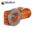 High torque coaxial transmission helical gear box with ISO CE certificated