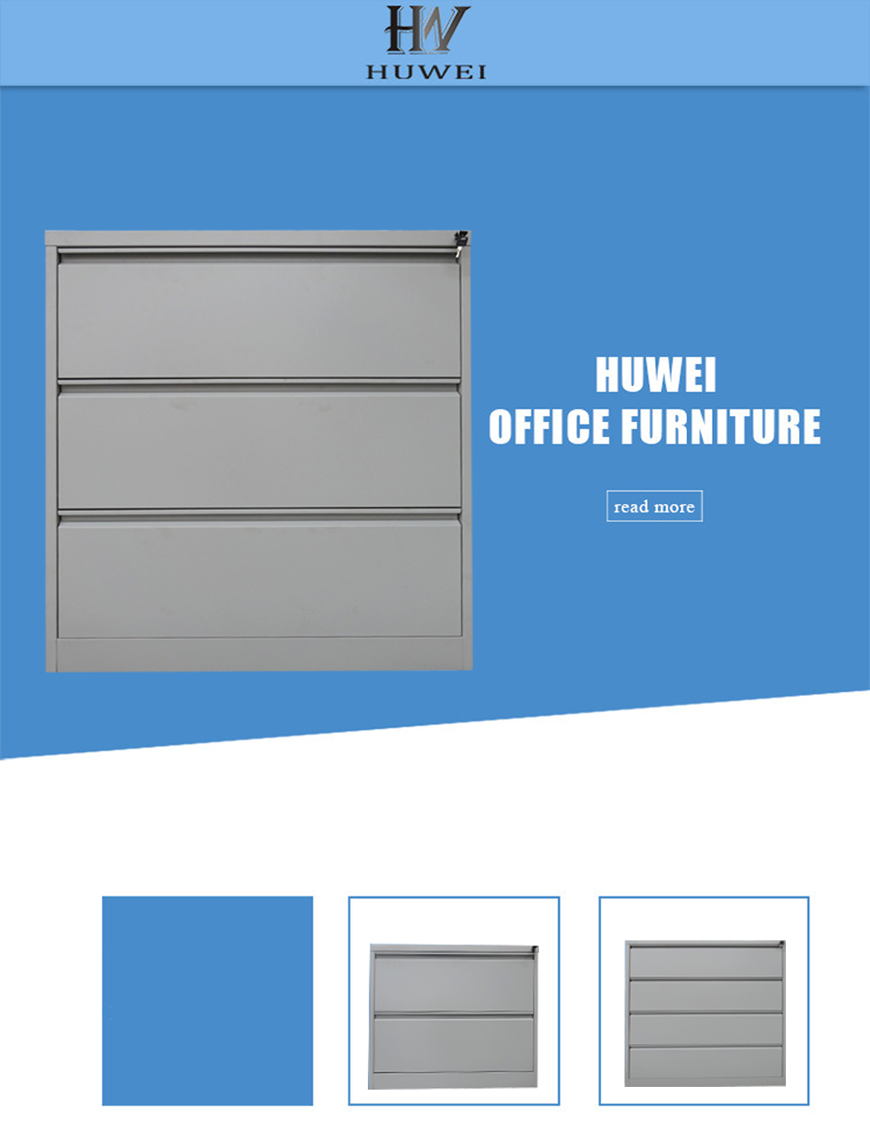 4 Drawers Lateral document Cabinet