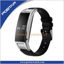 Grossista telefone celular bluetooth relógio inteligente com banda de silicone