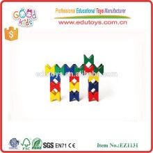 Jouets de maternelle Jouets Créativité pour enfants Ensemble de construction en bois coloré