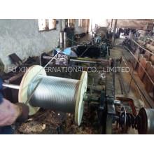 Alambre, cuerda de alambre de acero galvanizada, cuerda de alambre de cuerda de alambre de acero/estancia alambre/Guy/cable