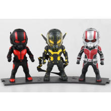 Lovery personnalisé PVC Mini Action Figure Doll Kids Ant-Man Toys