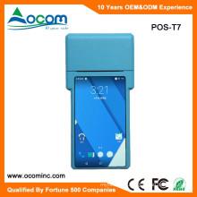 POS-T7 Handheld Android POS Terminal Machine With Printer