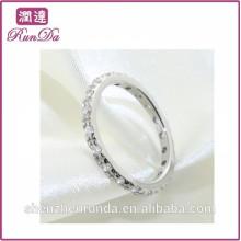 2014 la joyería cristalina al por mayor de los anillos de la manera de las mujeres al por mayor