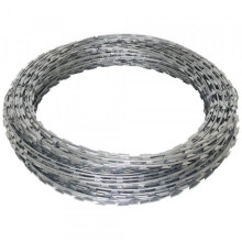 Razor wire high quality hot dipped galvanized barbed wire mesh
