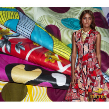 Ankara Wax Print Fabric $1 Yard Bazin Riche Different Kinds Stocklot Fashion African Custom Printing Textile Material Printed