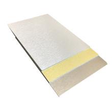 Revestimiento de pared de alta calidad Hoja de revestimiento de aluminio cepillado