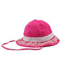 Wholesale Custom Made Kids Cotton Bucket Hats