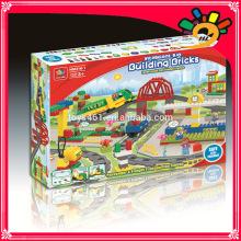 Neues Einzelteil heißer Verkauf elektrischer großer Viadukt Baustein-Spielwaren