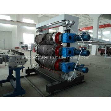 Экструзионная линия для производства пластиковых плит и листов PE / PP / ABS / PS