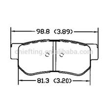 FDB4247 GDB3432 58302-38A10 58302-3KA51 D813 58302-17A00 for Kia brake pad