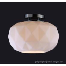 Modern High Quality Simple Glass Roon Ceiling Lamp (MX8710S-W)