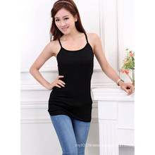 Vest Tank Sexy Women Tee Plain Top Strappy Camisole (14249)