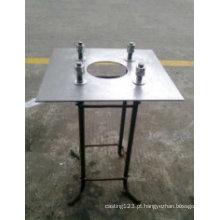Base de instalação de lâmpada galvanizada por imersão a quente para uso predial
