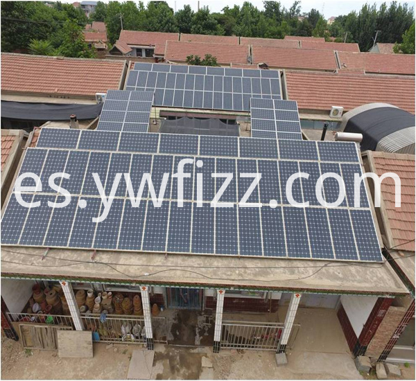 Solar Custom Roof Power Generation System