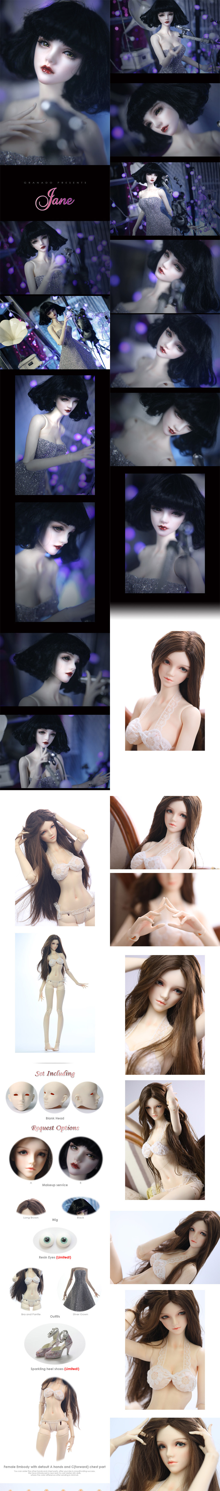BJD Jane Jointed doll