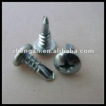 pan head cross recessed self Drilling screw