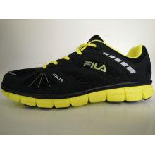 Hombres Negro Amarillo Md Outsole Deportes Zapatos
